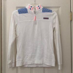 White vineyard vines shep shirt